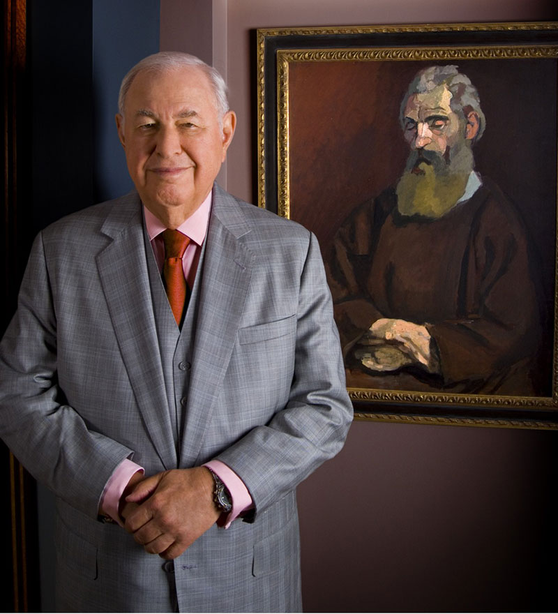 2007-in-Bloomfield-Hills-Office-with-Henri-Matisse-painting-2