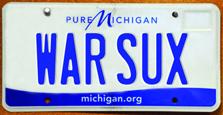 License Plates-Pure Michigan