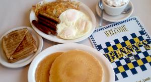 "Michael Phelps ""Hungry Man"" Breakfast"