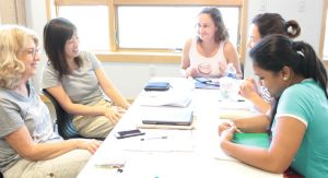ESL groups at Washtenaw Literacy build friendships and learn language