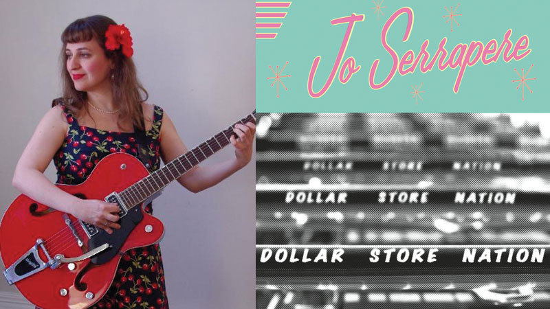 Jo Serrapere's 'Dollar Store Nation' drops at The Ark this Saturday
