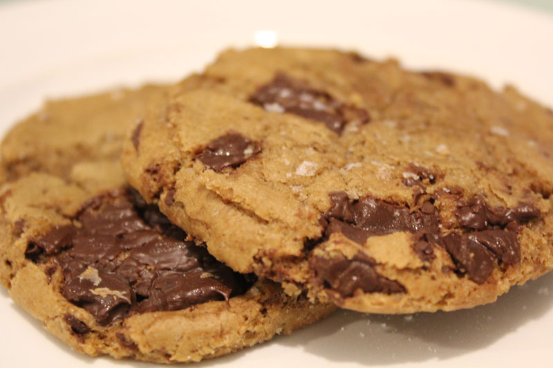 Salted chocolate chip cookie.