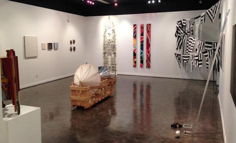 A look inside the EMU gallery
