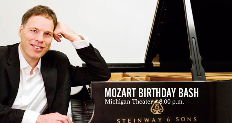 Special guest Alon Goldstein at Mozart's Birthday Bash