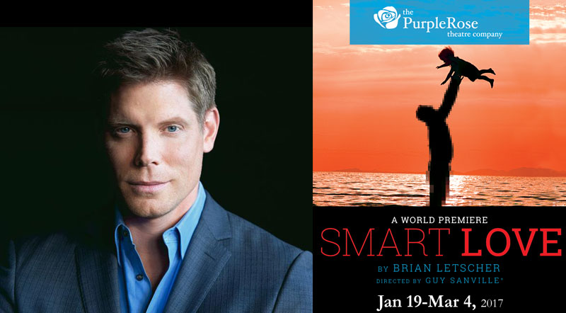 Actor Brian Letscher, known for his role on ABC's Scandal, will debut his play on January 19.