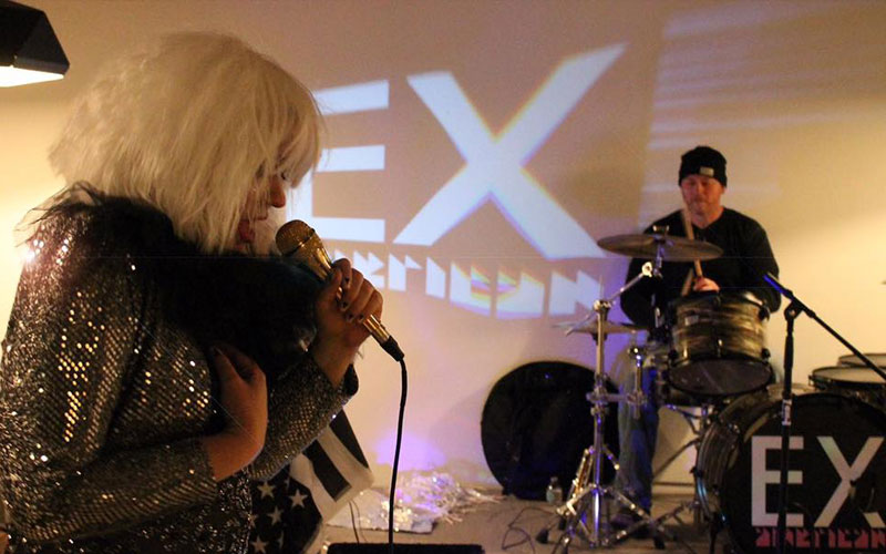 Ex-American Performs at the opening of Grove Studios on January 6 - Photo: Christina Spivak