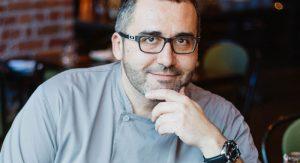Chef Raul Cob of Aventura in Ann Arbor