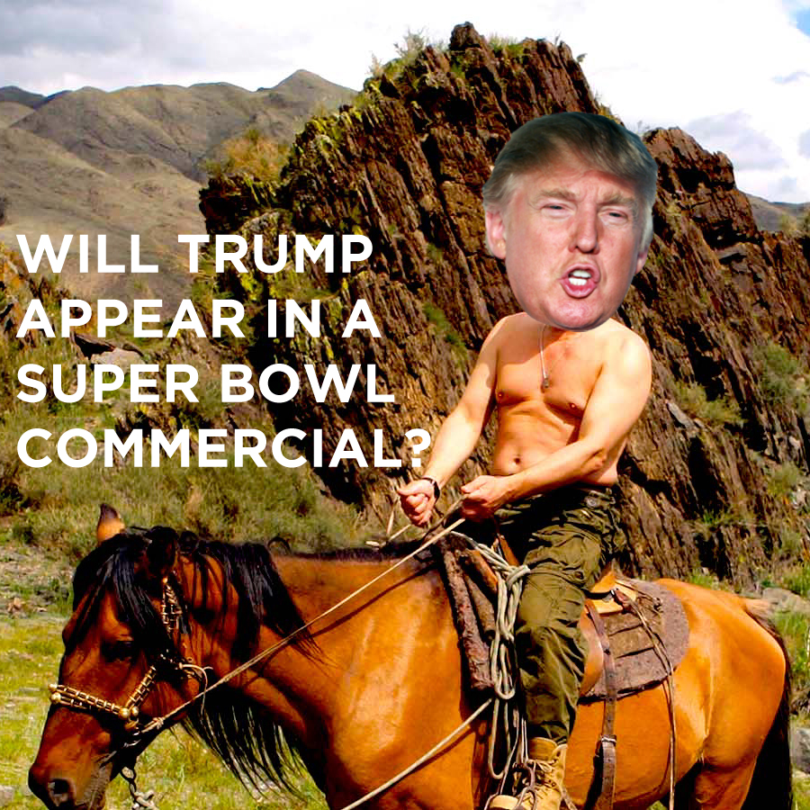 Donald Trump Super Bowl Commerical Prediction Fox