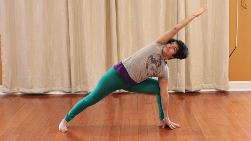 For Dina, yoga is something she draws strength from.