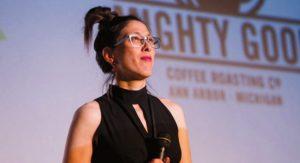 Ann Arbor Film Festival Director Leslie Raymond.