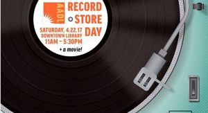The Ann Arbor District Library is going to be hosting its own RSD event, with a pop-up vinyl record bazaar