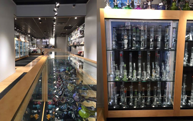 Ann Arbor's newest smoke shop, Exscape, is the nicest smoke shop we've seen