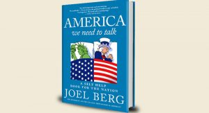 "Berg describes the politically-charged book as ""the world's first public policy self-help book"""