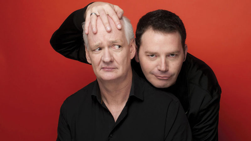 Colin Mochrie and Brad Sherwood of Whose Line is it Anyway? bring their hilarious and completely improvised show on the road
