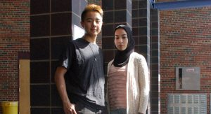 Two Pioneer High School seniors, Amory Zhou-Kourvo and Yara Ajin, are spearheading efforts to engage their peers in resisting recent actions undertaken against local immigrants.