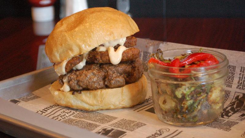 The Fat Californian burger at Haymaker Ann Arbor
