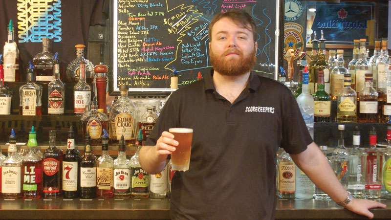 James Roche, Bartender/ Manager - Scorekeepers