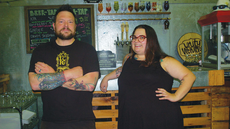 Donn Stroud, Brewery Operations Manager & Jessica Buddle, Head Brewer - Unity Vibrations
