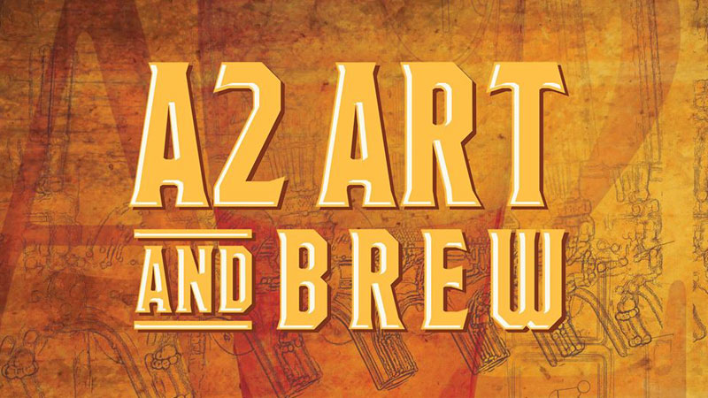 The Ann Arbor Art Center's A2 Art & Brew fundraiser
