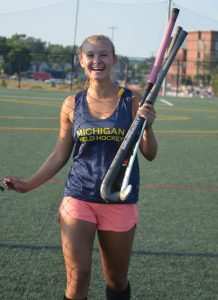 Pioneer's Ava Millman is inspired watching UM players