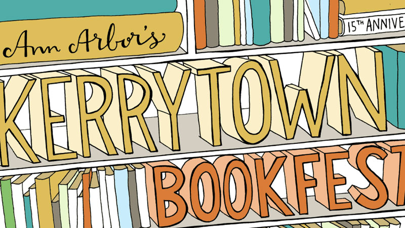 Kerrytown BookFest will take place Sunday, September 11th