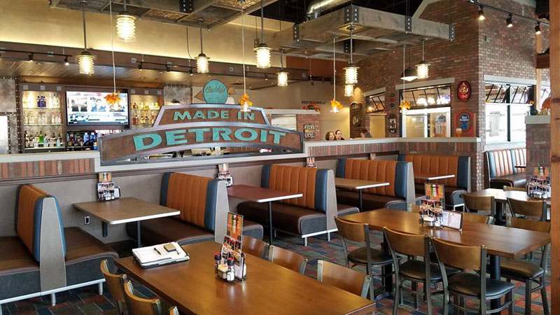 Inside the new Buddy's Pizza in Ann Arbor