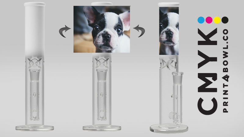 Custom bongs and pipes from Printabowl