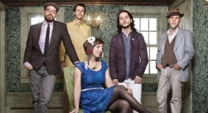 The Ragbirds' music is an eclectic patchwork of folk styles from around the world
