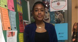 Huron Student Nia Buchanan