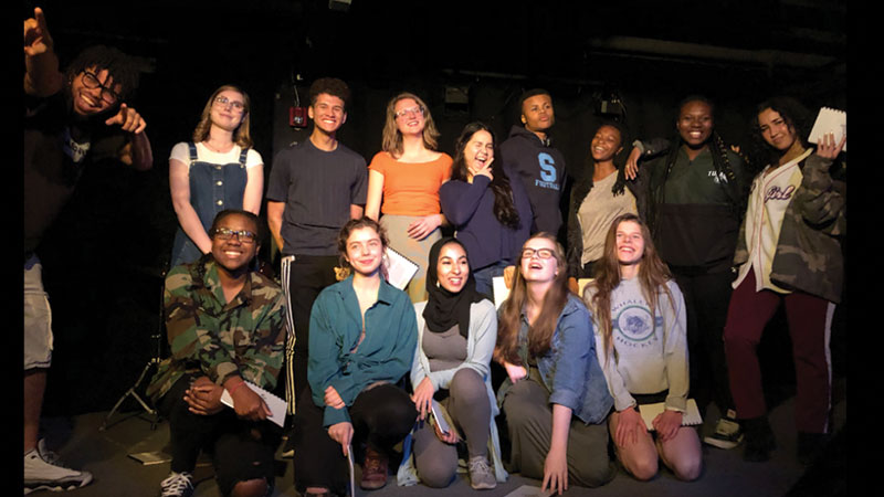 19 Writers Competed for Poetry Slam Title