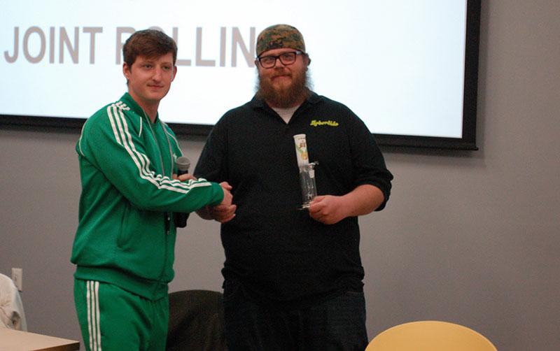 Winner Jason Erwin of Arborside took home the Gold Medal Trophy.