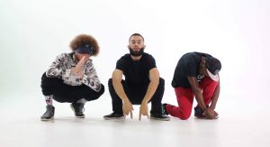 (L-R) Lewy Seifer, OGspunkySmith, and DJ OnDemand comprise the Ypsi-based hip-hop trio.