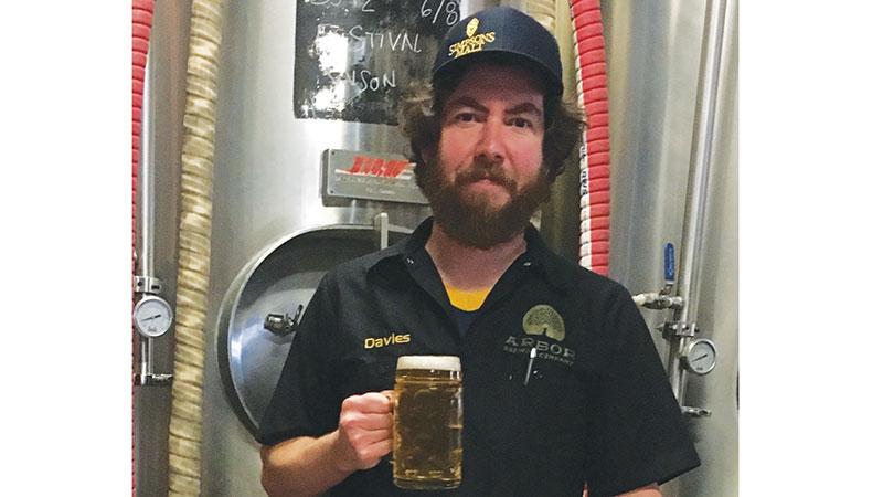 Chris Davies: Head Brewer