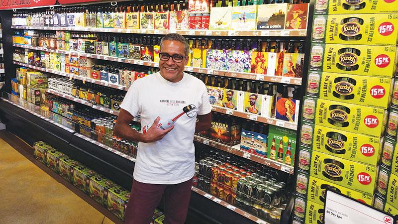 Armando Rios: beer specialist