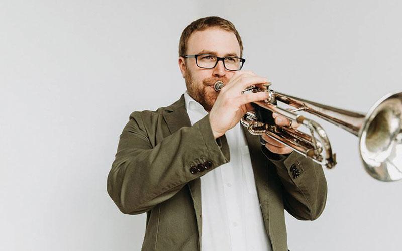 Jazz trumpeter Benje Daneman