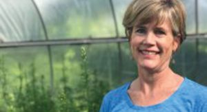 Growing Hope's new execute director, Growing Hope's executive director, Cynthia VanRenterghem