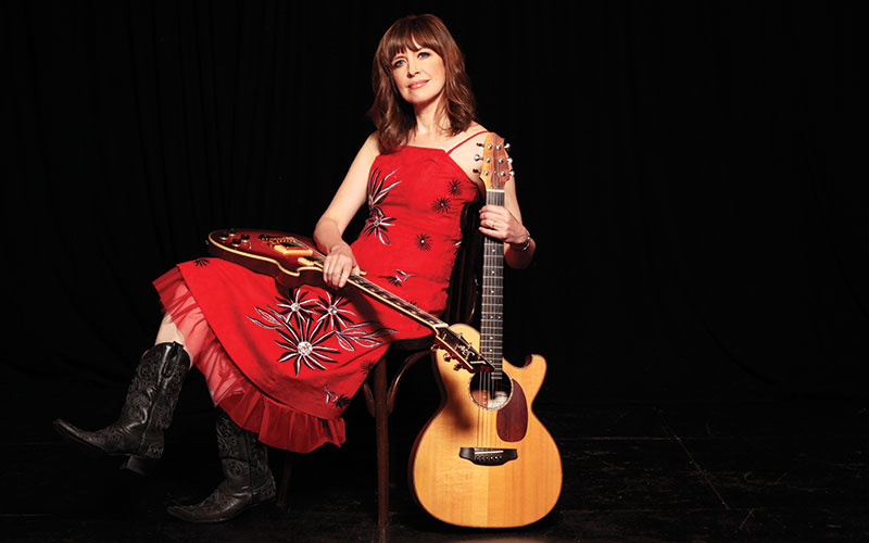 Singer/songwriter Sarah McQuaid