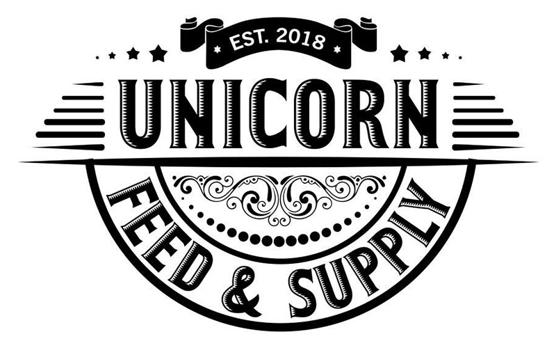 Find rainbow colored gifts, cards, and more at Unicorn Feed and Supply