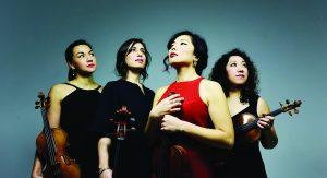 Aizuri Quartet Performance
