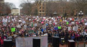 Women's March On Ann Arbor