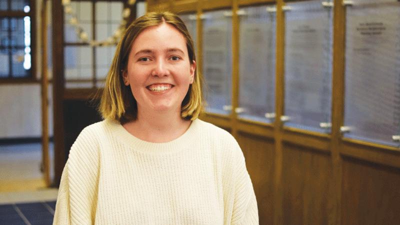 Lauren Schandevel, UM Senior, shared a document that made national news.