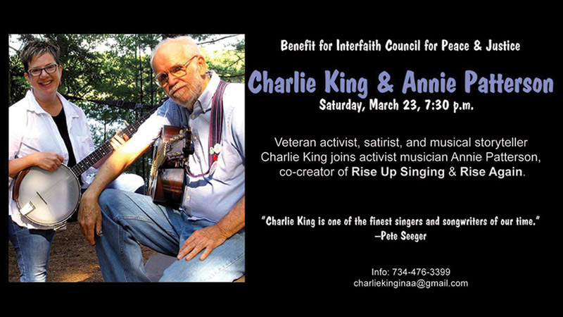 Charlie King and Annie Patterson