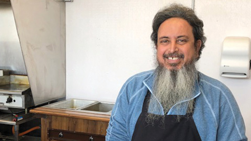 Furrokh M. Khan, Once Upon A Grill's cook