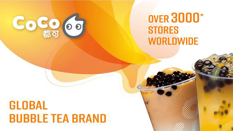 CoCo Fresh Tea & Juice offers authentic Bubble Tea and more