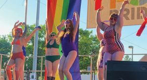 Performance at the 3rd Annual Ypsi Pride event.