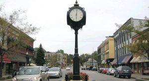 t Depot Town neighborhood