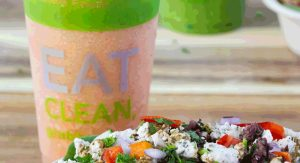 Grabba Green Food+Juice features an Eat Clean menu
