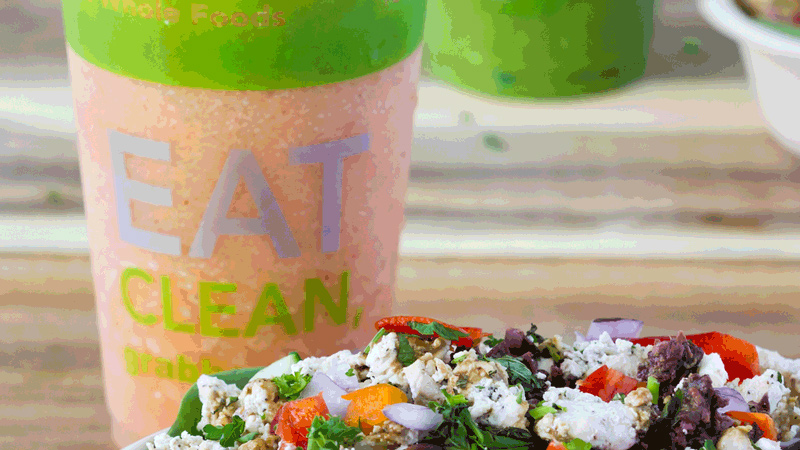 Grabba Green Food+Juice features an Eat Clean menu