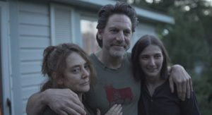From left to right: Talia Balsam, Scott Cohen and Macaulee Cassaday in the South Mountain film.