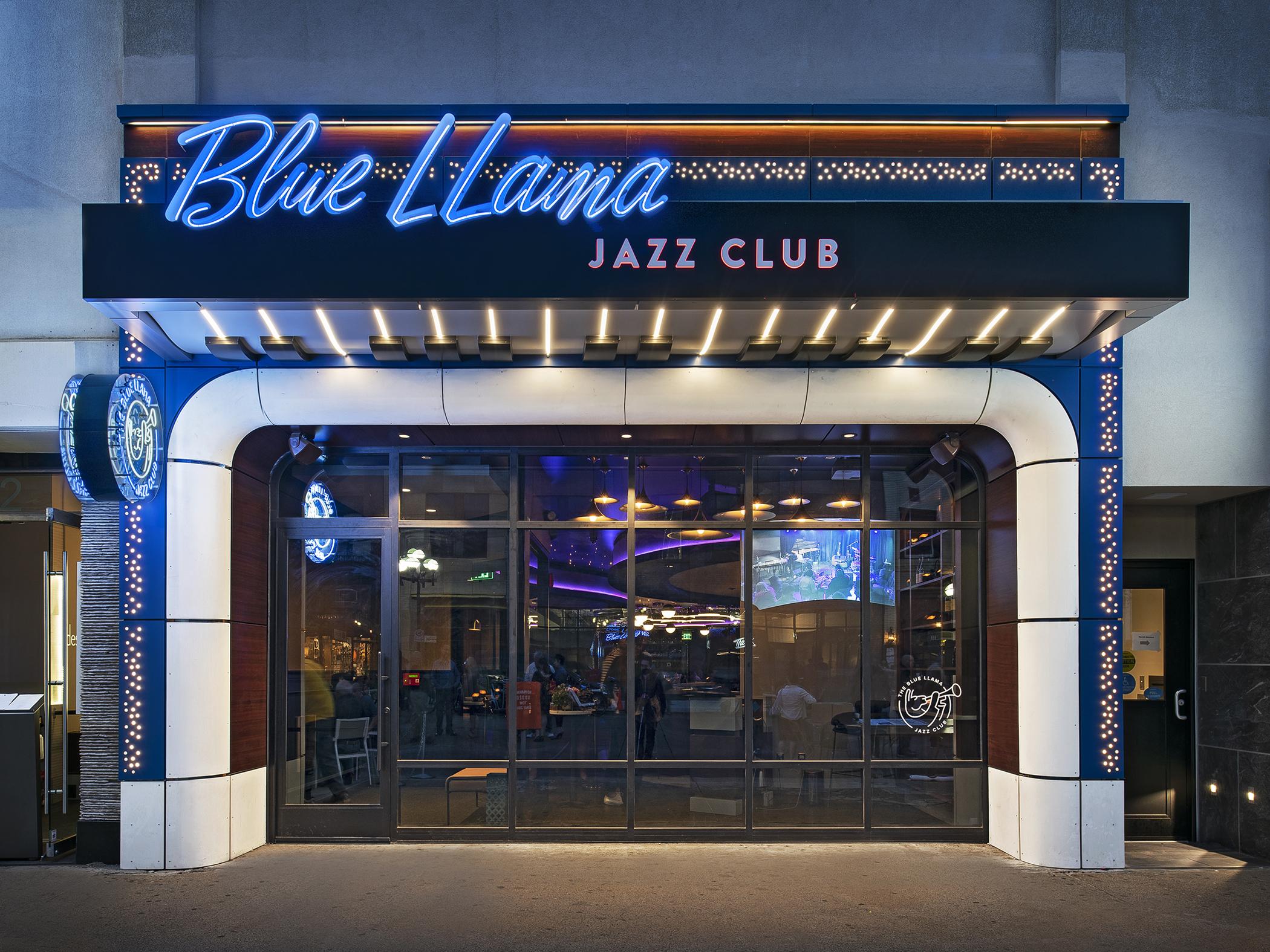 The Blue Llama